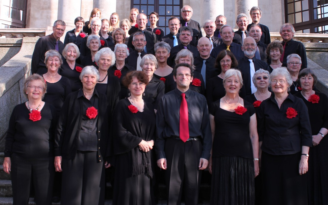 The Lancaster Singers perform at Live at LICA on Saturday 23rd March 2014