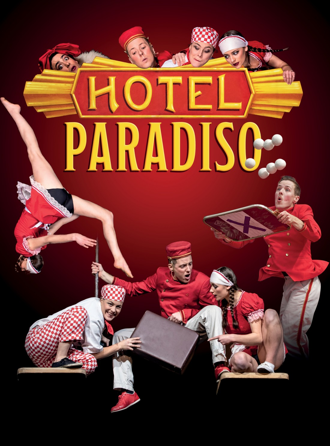 Lost In Translation Circus present 'Hotel Paradiso' at Lancaster Arts on 8-9 February 2019.