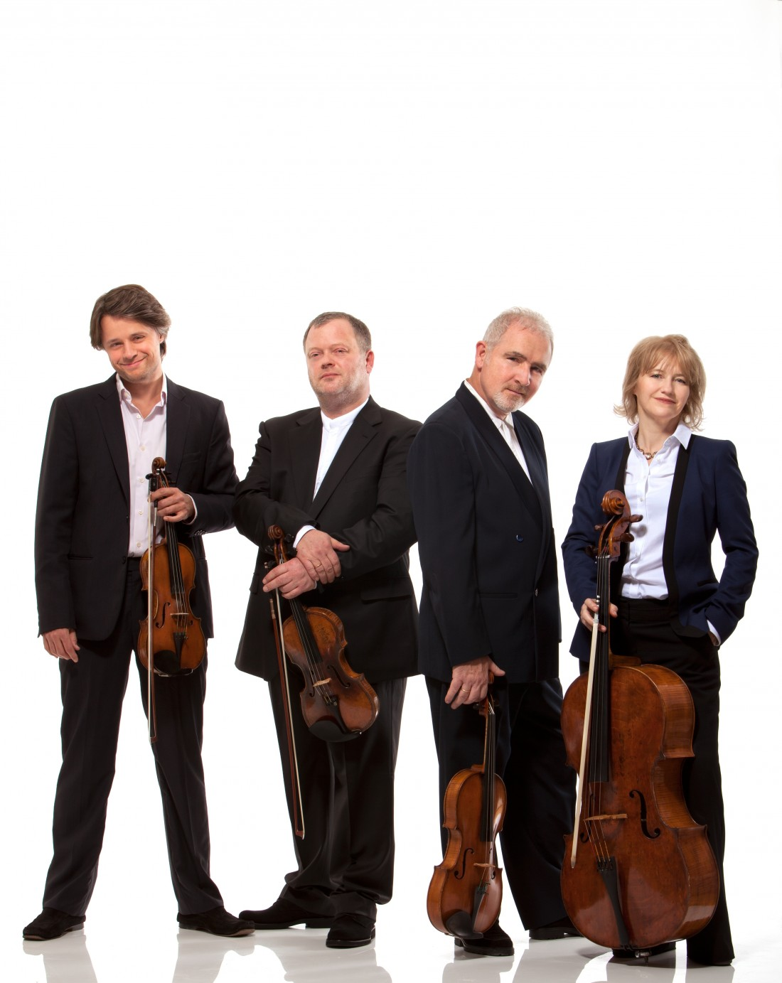 The Brodsky Quartet perform on 19 October at The Great Hall, Lancaster University