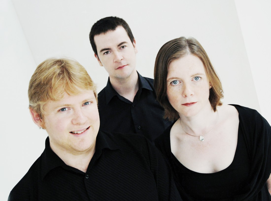 The Fidelio Trio perform at Lancaster University's Great Hall on 27 February 2014.