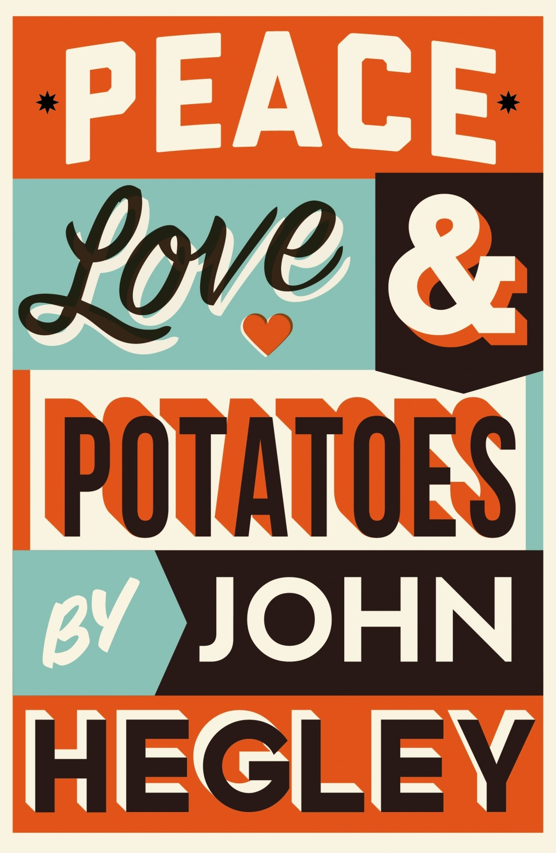 John Hegley 'Peace Love & Potatoes' at the LICA building, Lancaster University on Sat 20th Oct at 8.30pm