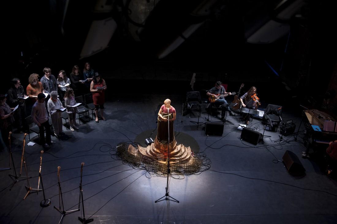 Glorious' in rehearsal, Rajni Shah Projects, Un Pas de Trop Festival (Mons) 2012