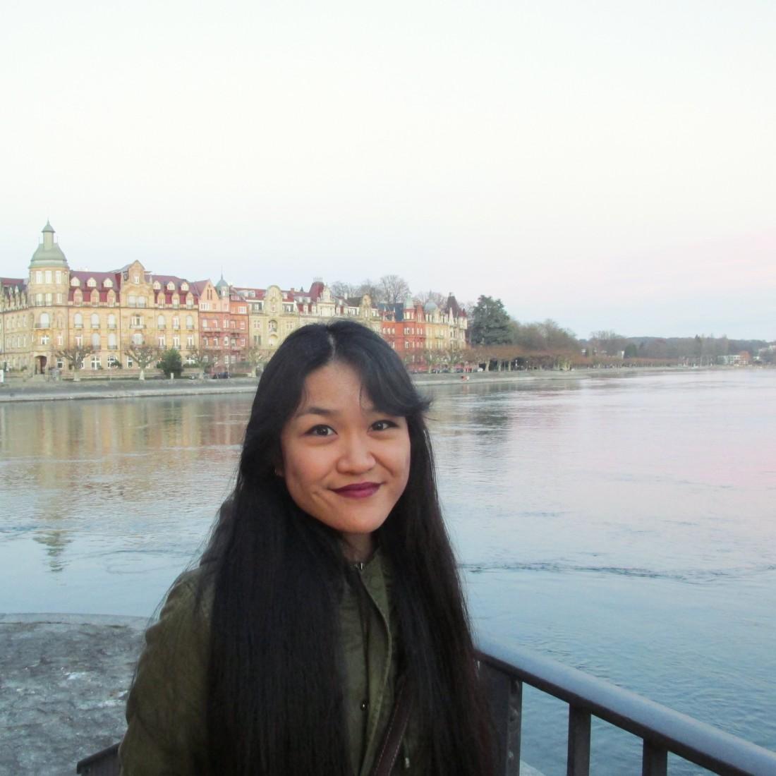 Asia Li. Peter Scott Gallery volunteer