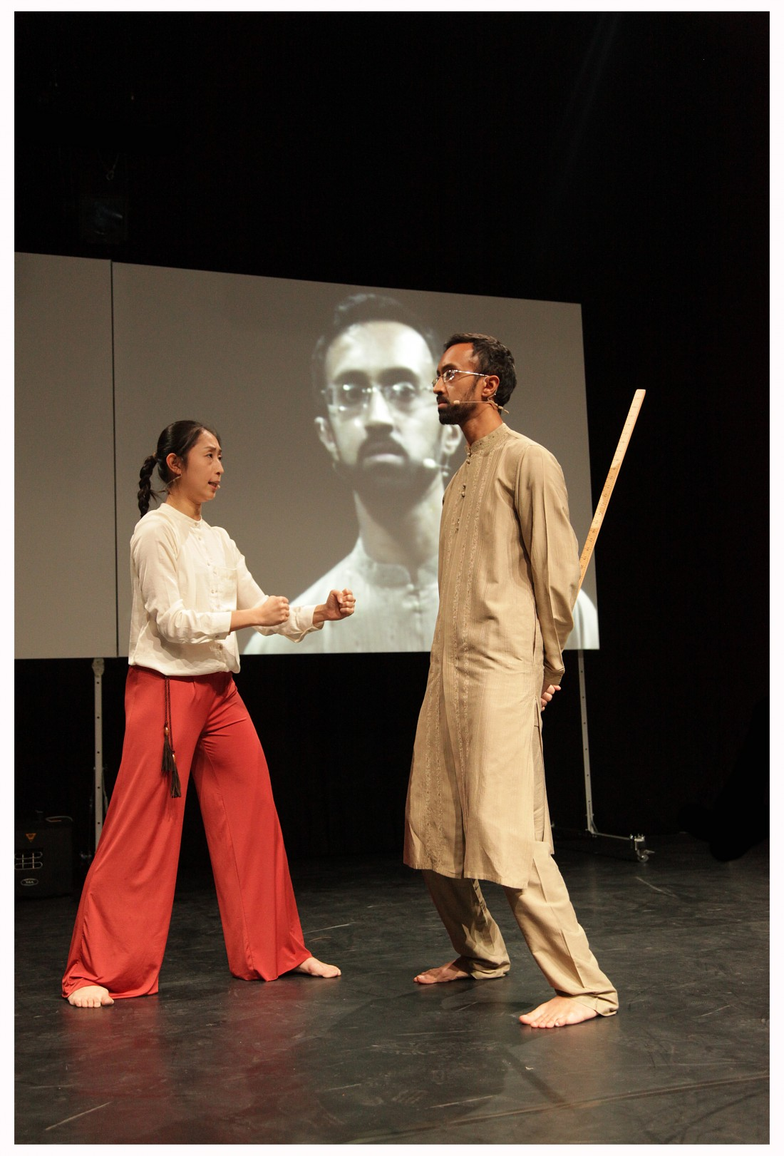 Hetain Patel. 'Be Like Water'. Live at LICA, Lancaster. 8pm. 12 February 2013.