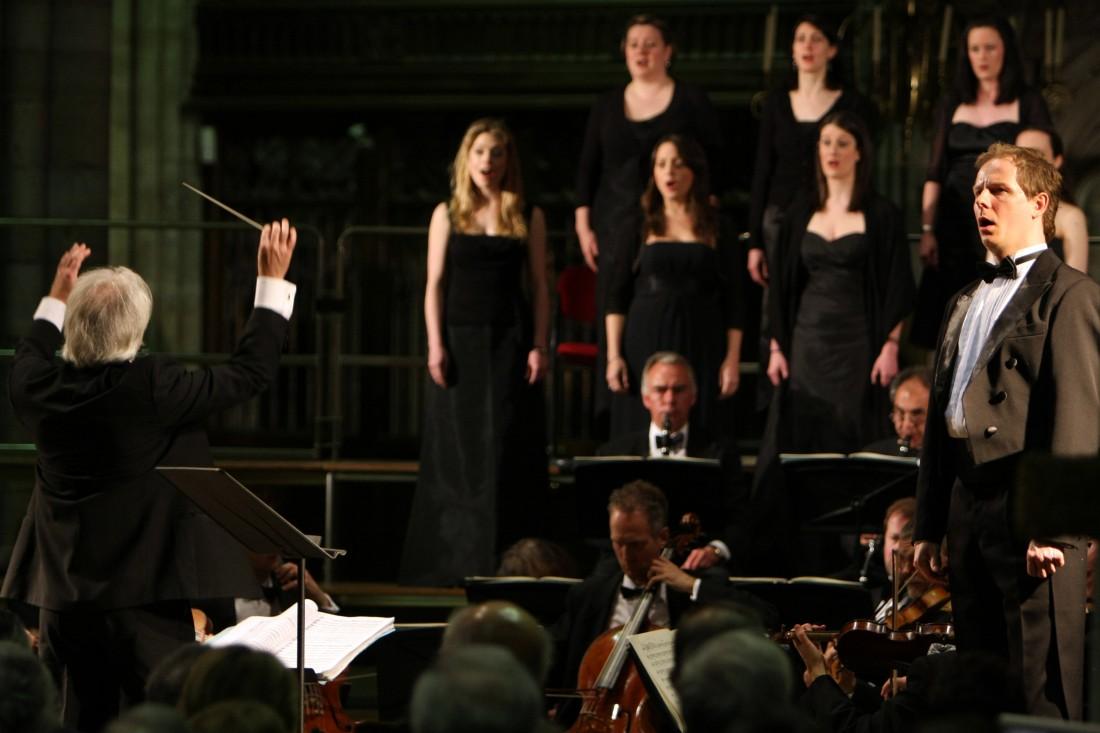 Lancaster Arts at Lancaster University present the English Touring Opera at Lancaster Priory on Sunday 4 December 2016