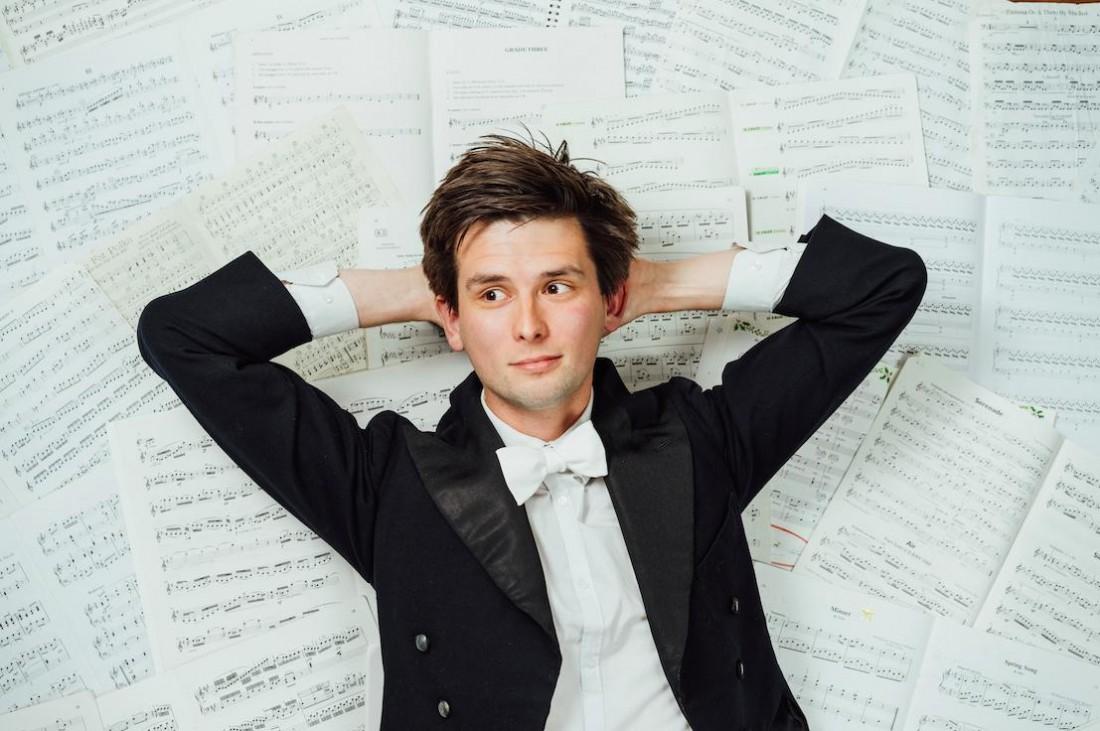 Kieran Hodgson presents 'Maestro' at the Nuffield Theatre at 8pm on 22 November 2017