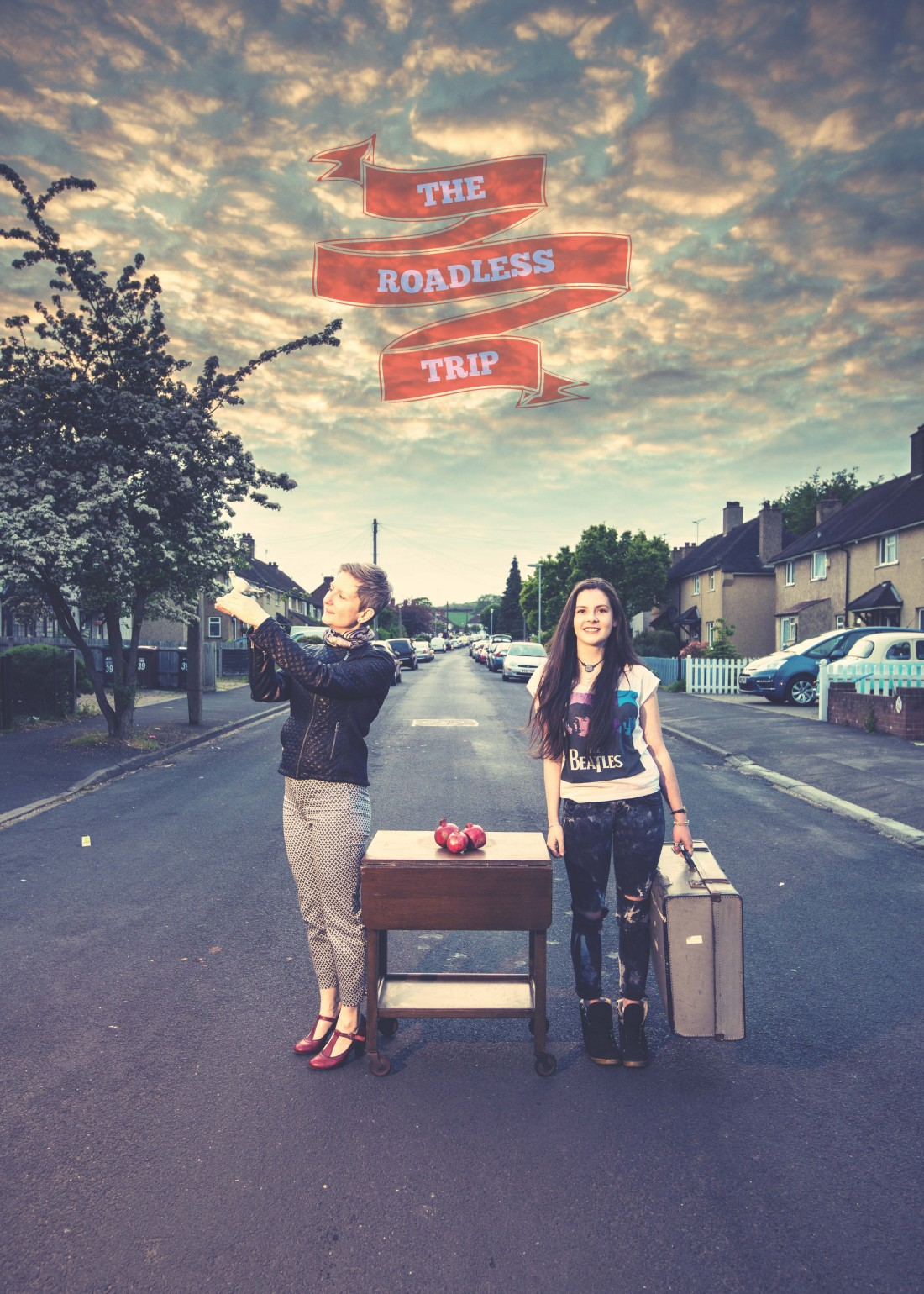 Sarah Woods presents 'The Roadless Trip' at the Nuffield Theatre in Lancaster on the 5 November 2015.