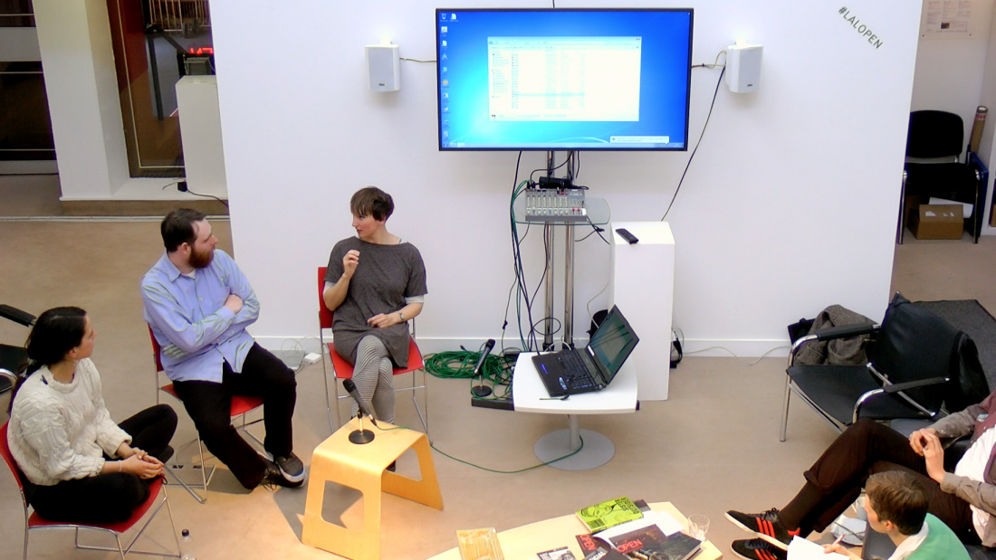 Lunchtime Artist Talk with Laurence Payot, Andrew Gannon, Romany Dear