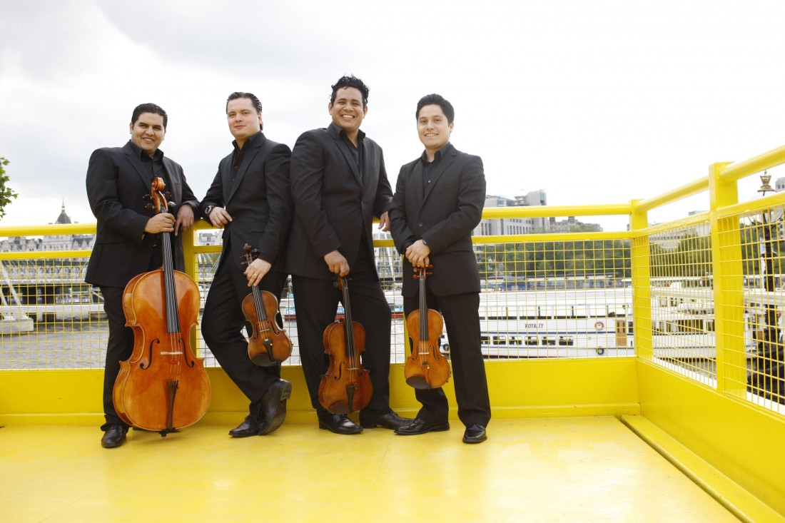 Simón Bolívar String Quartet, The Great Hall, Lancaster University. 5th December 2013.