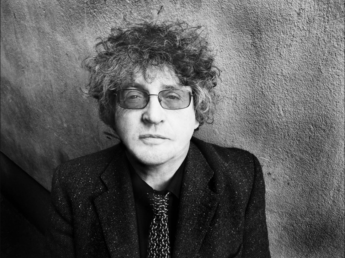Paul Muldoon black and white photo