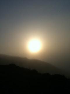 how the sun lights the earth