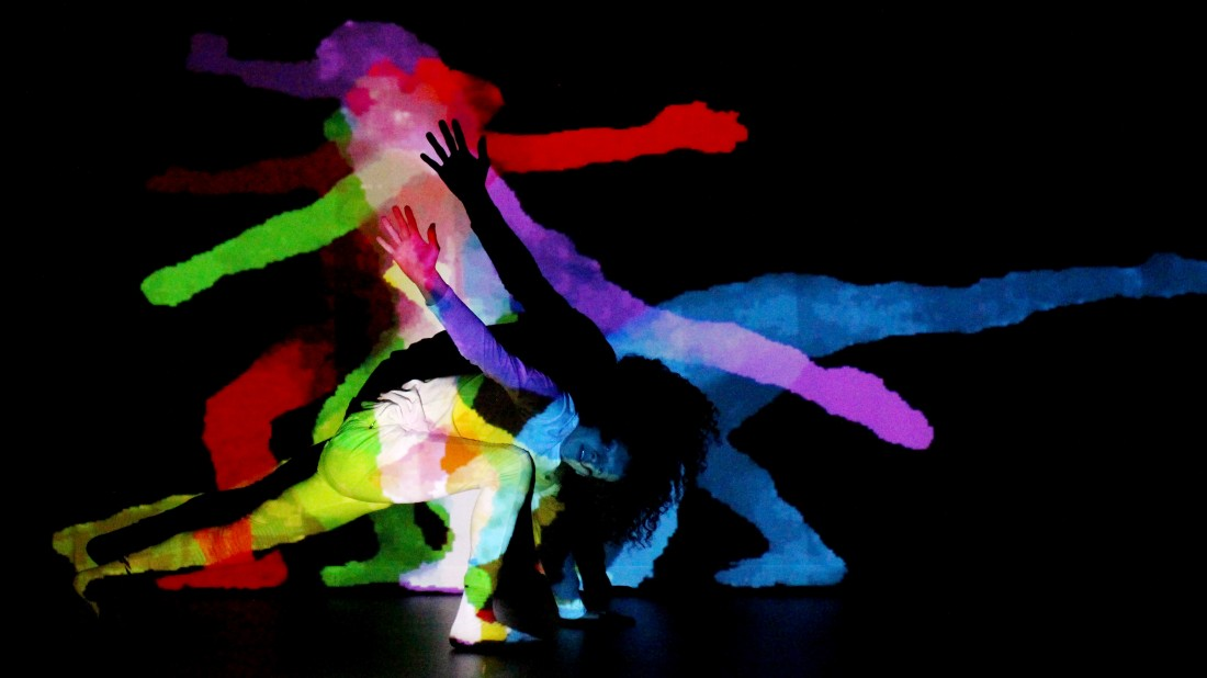 Darren Pritchard's 'Body Of Light' - blending dance and projection - comes to Lancaster Arts on Saturday 21st October.