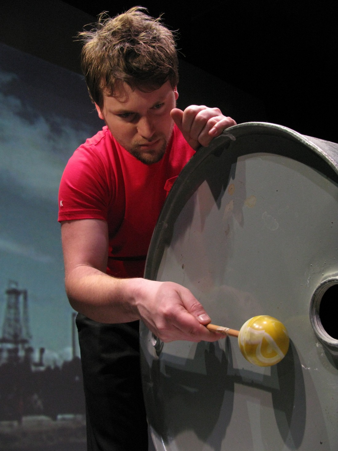 Internationally acclaimed percussionist Joby Burgess brings us Powerplant, an inspiring collaboration with sound designer Matthew Fairclough and filmmaker Kathy Hinde.