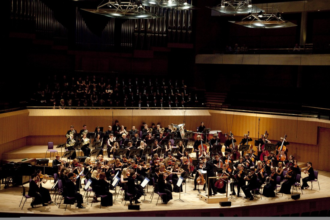 Conducted by Stephen Threlfall, Chetham's Chamber Orchestraperform at Lancaster University's Great Hall on 16 February 2017.