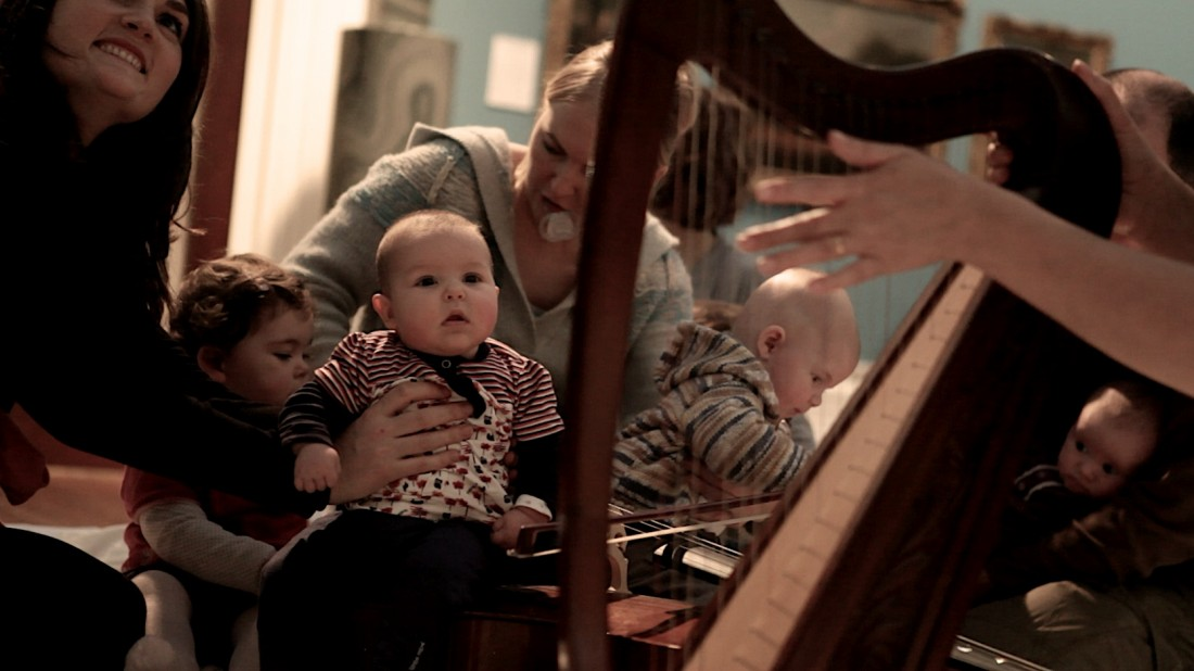 Part of Live at LICA 'In the City' Cello Babies allows babies and toddlers to tune into the sounds around them, helping them communicate, explore, create and make sense of the world. Lancaster Library. 15 November from 10.30am.