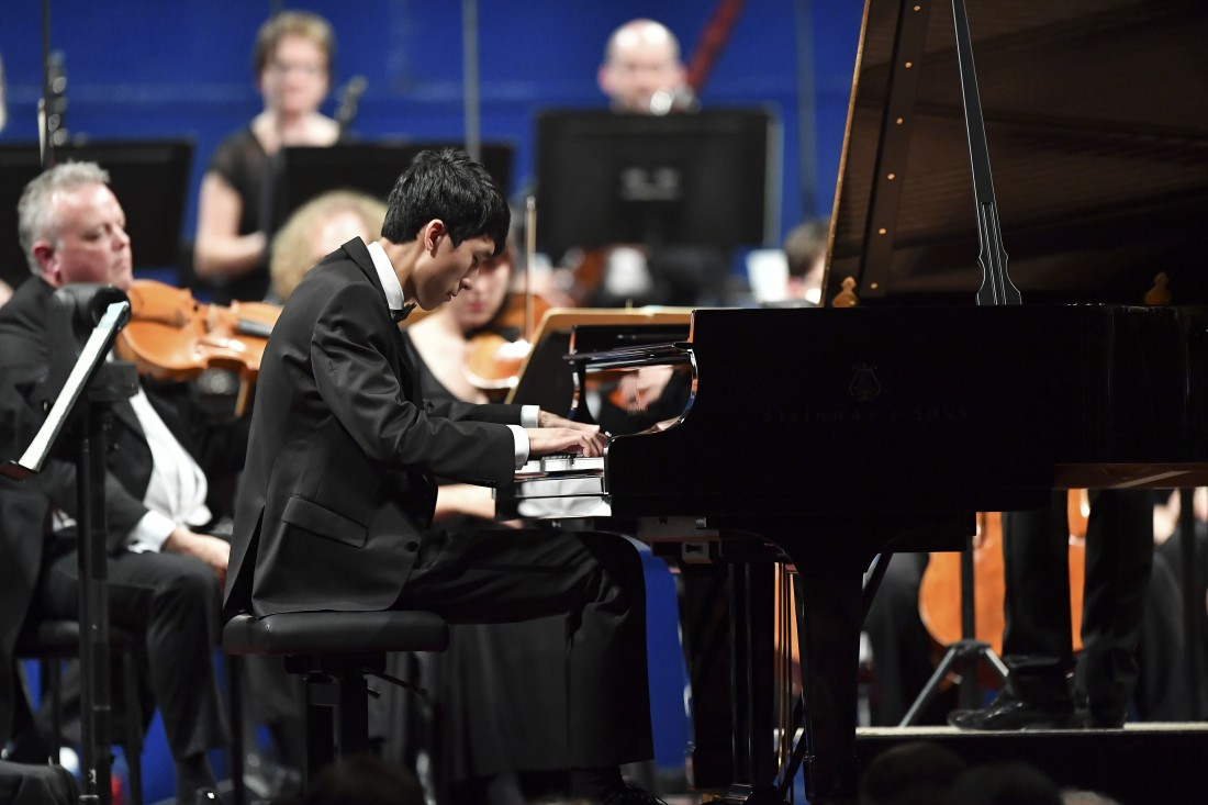 ERIC LU (PIANO) Winner of the 2018 Leeds International Piano Competition. Lancaster University Great Hall: Thursday 28 March 2019.