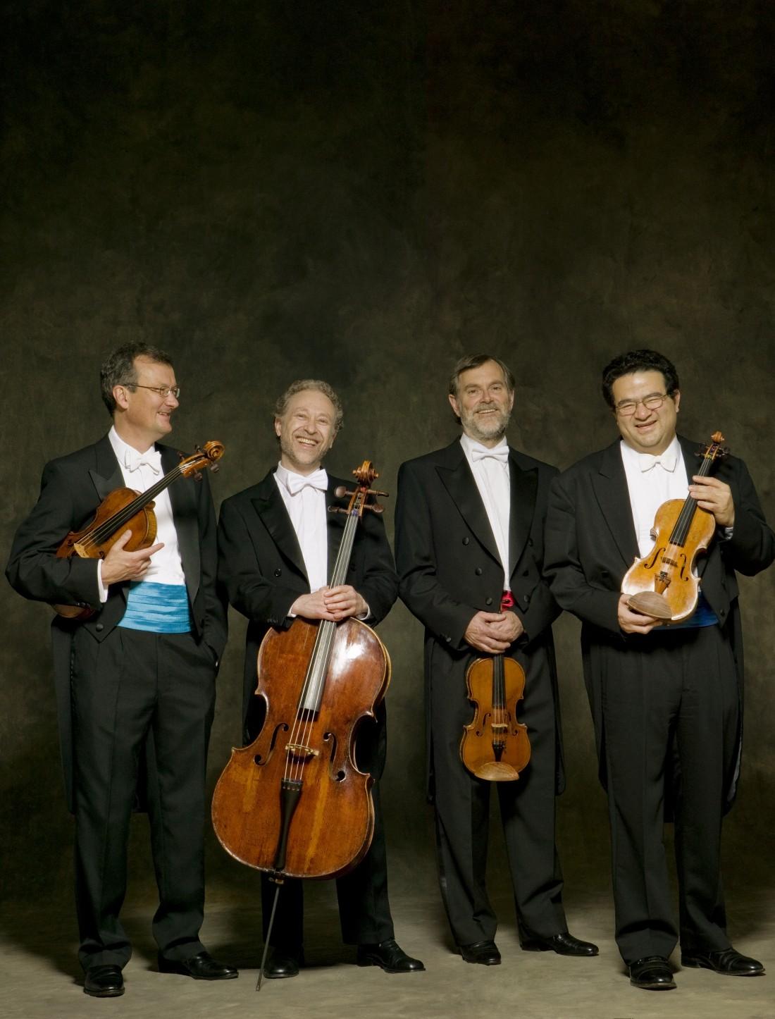 The Endellion String Quartet play at Lancaster University's Great Hall on 17 November 2016