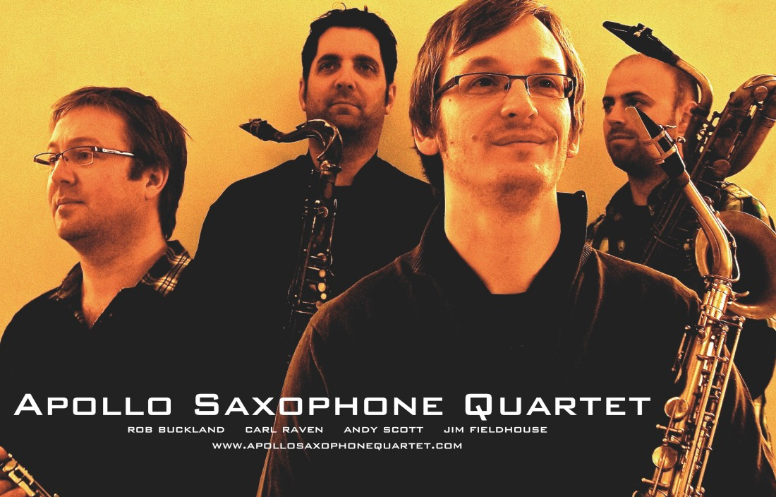 Apollo Saxophone Quartet Flyer