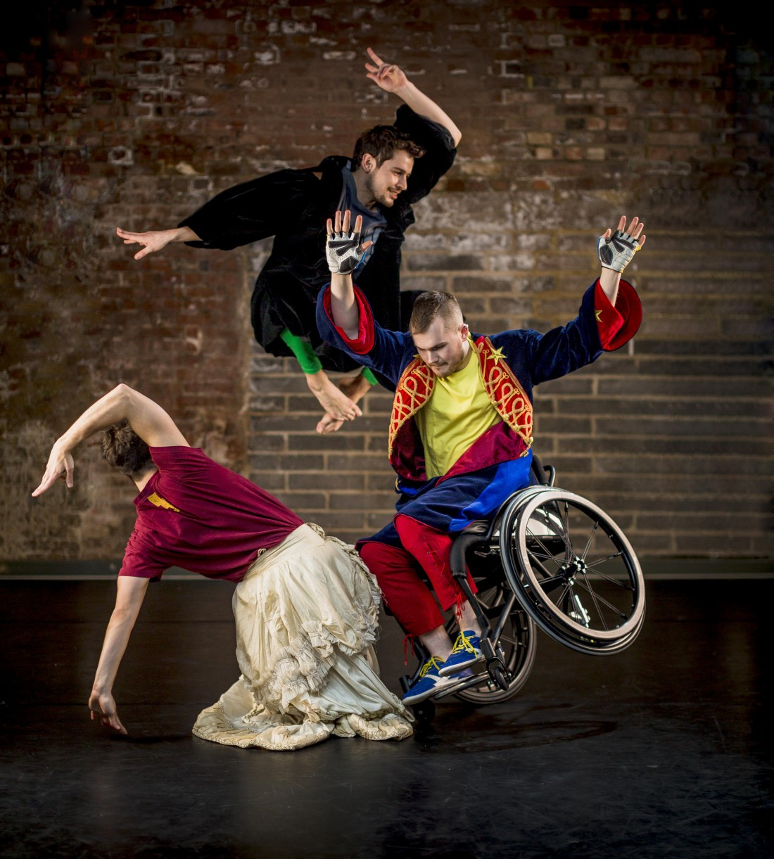 Candoco Dance Company present an evening of two diverse dance works at The Nuffield Theatre, Lancaster University. 27 November 2014.