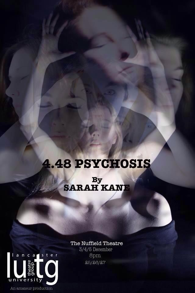 4.48 by Lancaster University Theatre Group at the Nuffield Theatre, Lancaster