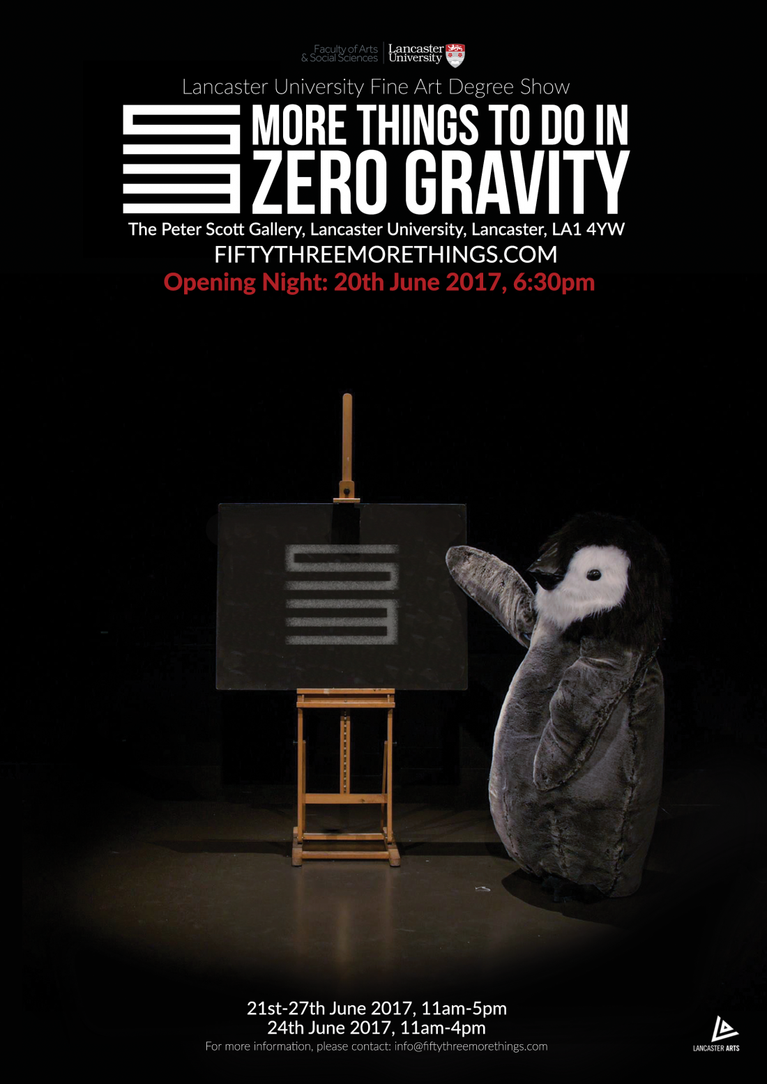 LU Fine Art Degree Show 21-27 June 2017 at Lancaster University's Peter Scott Gallery