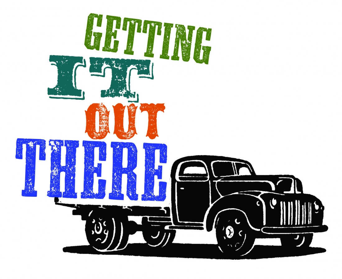 Getting It Out There Symposium Logo.