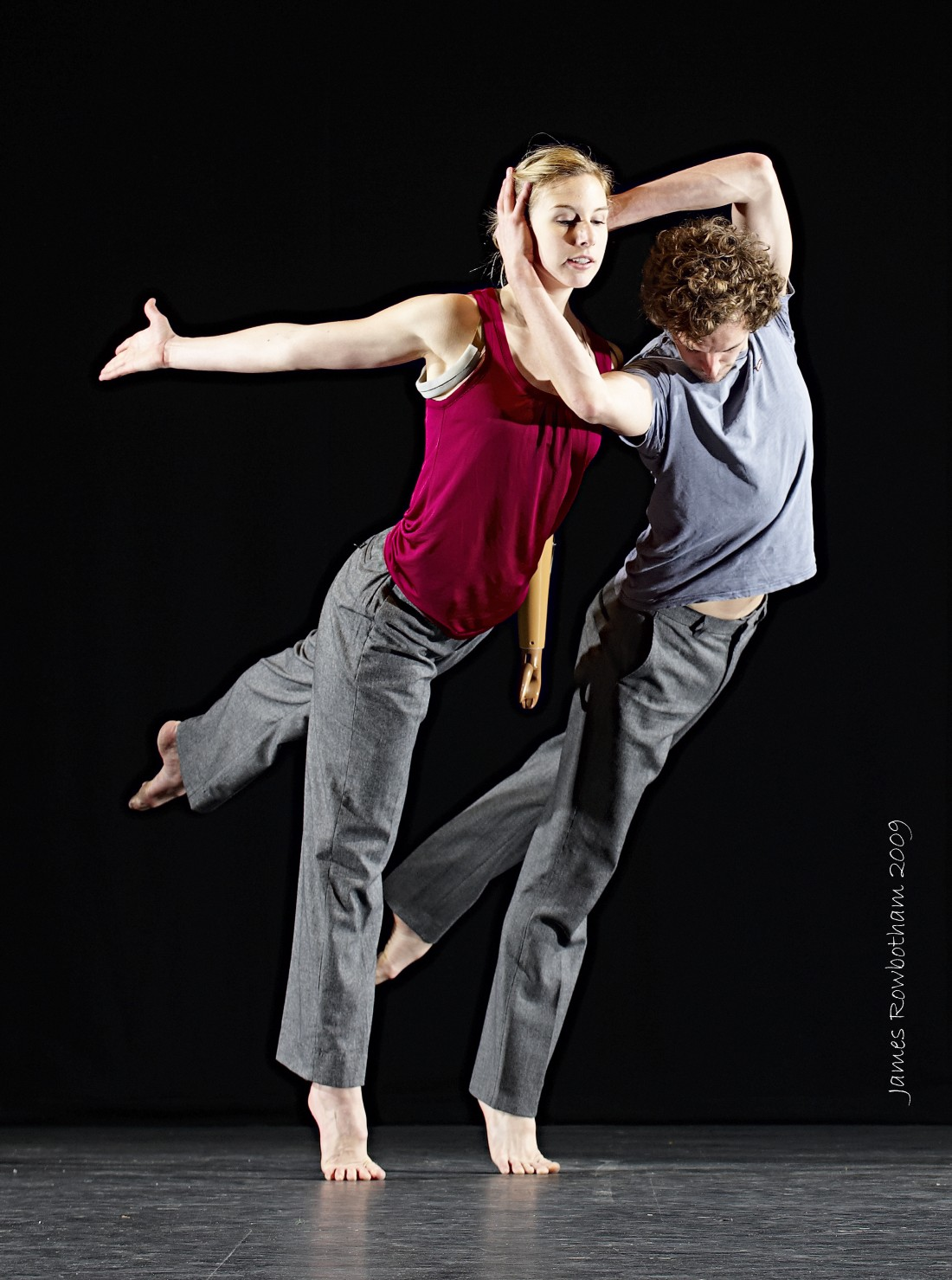 A promo shot for Candoco Dance Company