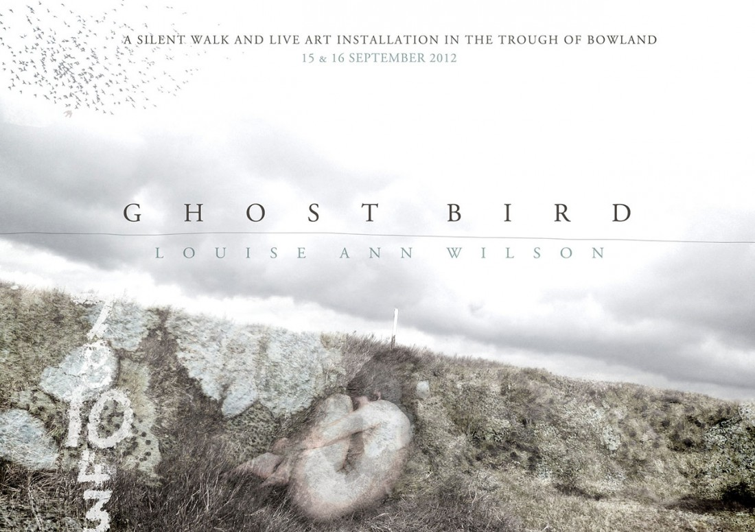 Flyer image for 'Ghost Bird' by Louise Ann Wilson