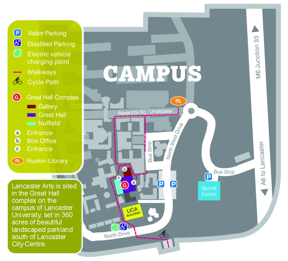 Lancaster Arts Map