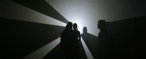 Anthony McCall, <em>Swell</em>, 2006. Photo: Reg Vardy Gallery. Courtesy of AV Festival 06.