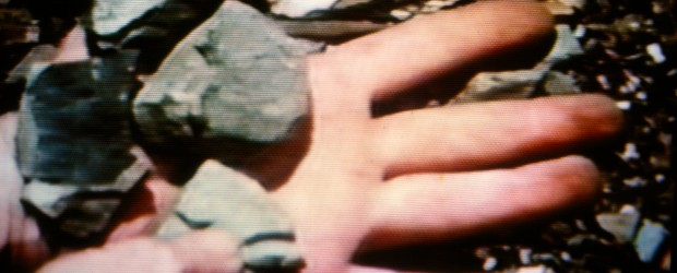 Dennis Oppenheim, <em>Rocked Hand</em>, 1970. © the artist