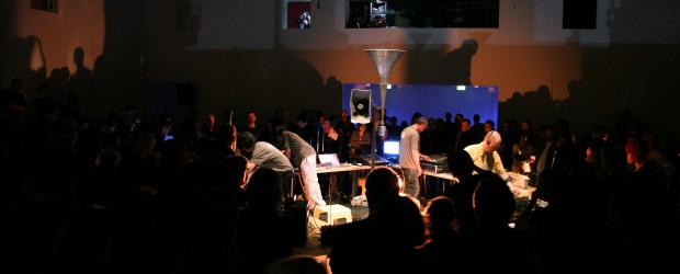 Various Artists, <em>Variations VII</em>, 2008. Photo: Louise Hepworth. Courtesy of AV Festival 08.