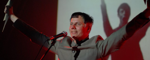 Felix Kubin, <em>Nothing is New, Everything is Permitted</em>, 2010. Photo: Peter Knight. Courtesy of AV Festival 10.