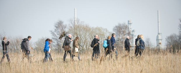 Chris Watson, <em>Teesside Sound Walk</em>, 2012. Photo: Chris Watson. Courtesy of AV Festival 12.