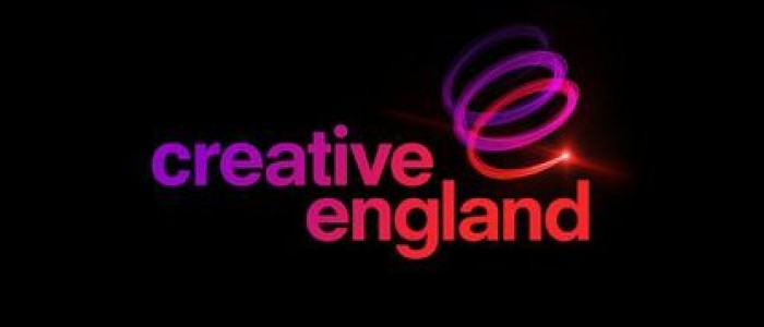 Creative England - Black background