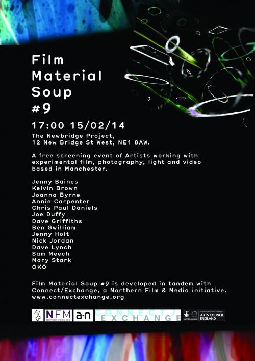 Chris Paul Daniels, Film Material Soup 9 event poster