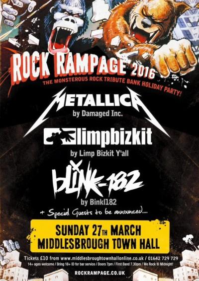 rock rampage poster